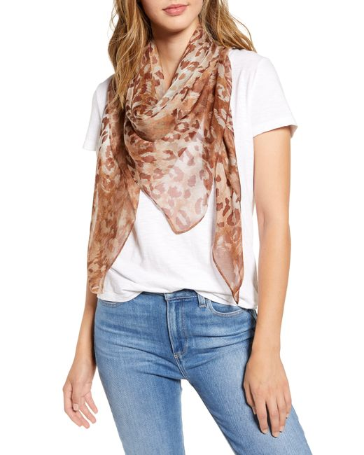 Nordstrom Natural Silk Scarf