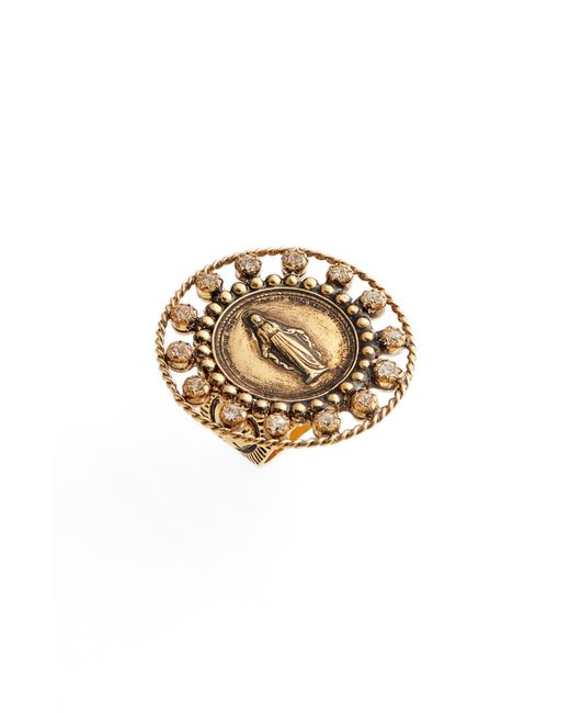 Virgins, Saints & Angels - Metallic Round Virgin Ring - Lyst