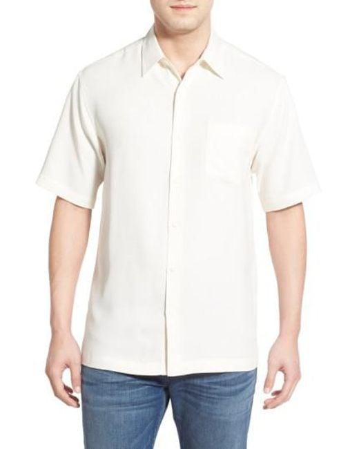 Kahala - White 'wind N Sea' Regular Fit Sport Shirt for Men - Lyst