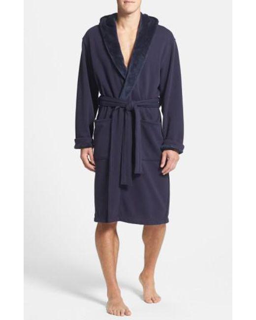 Ugg | Blue Ugg 'brunswick' Robe for Men | Lyst