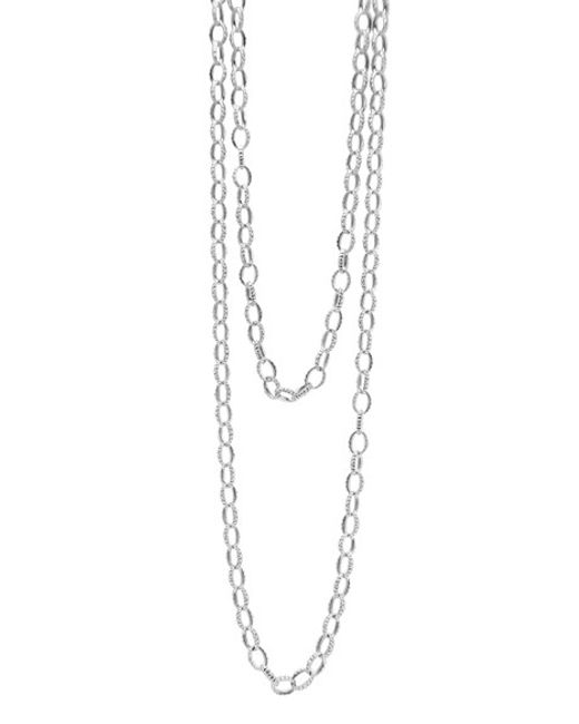 Lagos | Metallic Long Link Necklace | Lyst