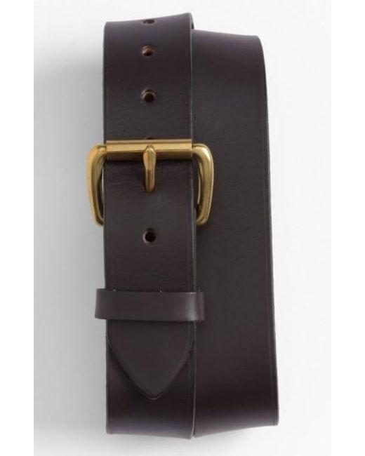 Filson | Brown Leather Belt for Men | Lyst