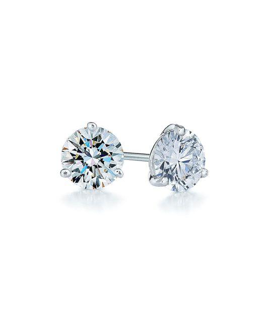 Kwiat - Metallic 0.75ct Tw Diamond & Platinum Stud Earrings - Lyst