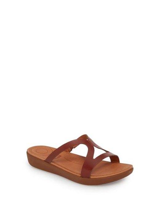 Fitflop - Multicolor Strata Slide Sandals - Lyst