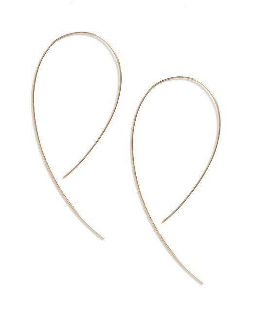 Lana Jewelry Metallic 'hooked On Hoop' Earrings