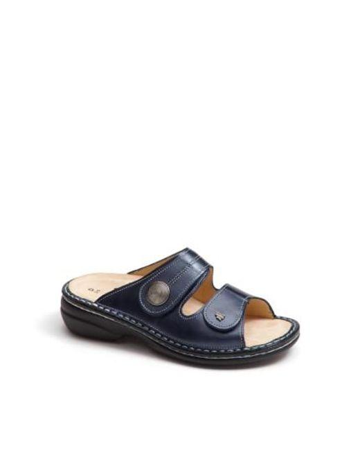 Finn Comfort - Gray 'sansibar' Sandal - Lyst