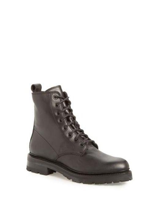 Frye   Black 'julie Combat' Boot for Men   Lyst