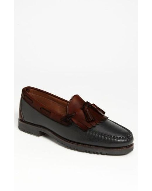 Allen Edmonds | Black 'nashua' Tassel Loafer for Men | Lyst