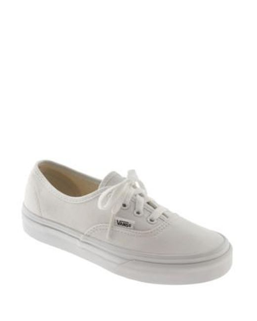 Vans | White 'authentic' Sneaker | Lyst