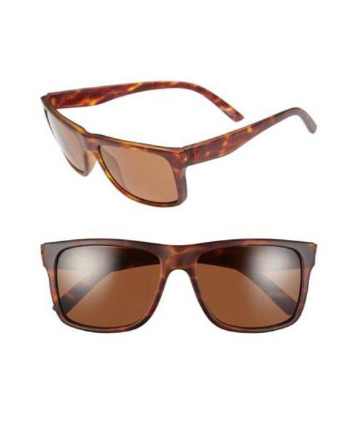 Electric - Brown 'swimgarm' 57mm Polarized Sunglasses - Lyst