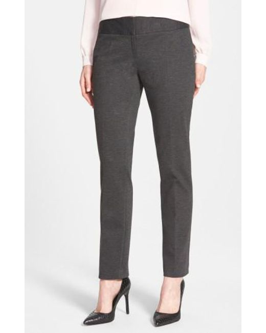 Vince Camuto | Black Ponte Ankle Pants | Lyst