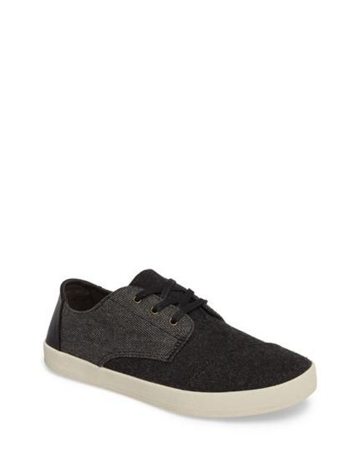 TOMS | Black 'paseo' Sneaker for Men | Lyst