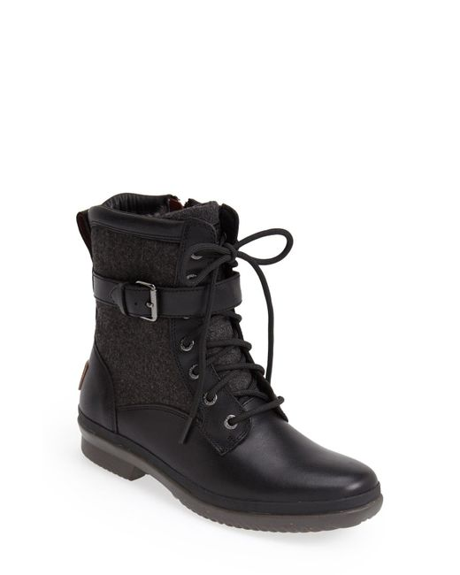 Ugg Brown ® Kesey Cold Weather Leather And Textile Boots