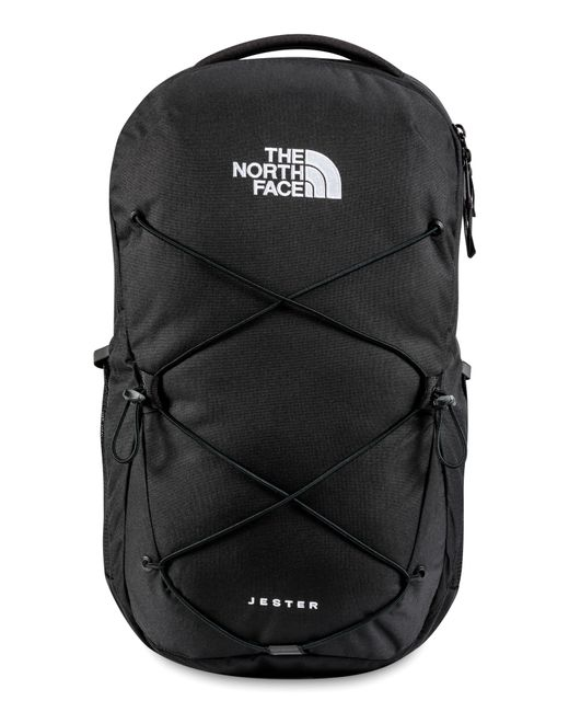 The North Face Black Jester Water Repellent Backpack for men