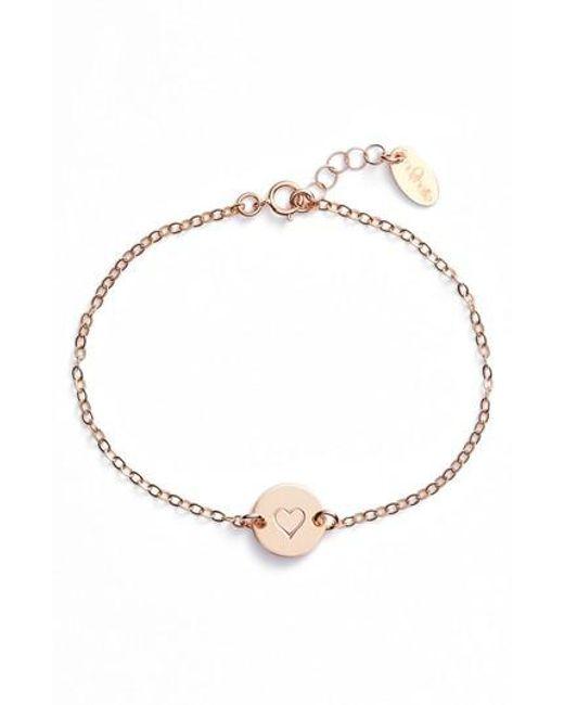 Nashelle   Metallic Mini Coin Bracelet   Lyst