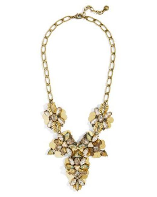 BaubleBar   Metallic Duchess Statement Necklace   Lyst