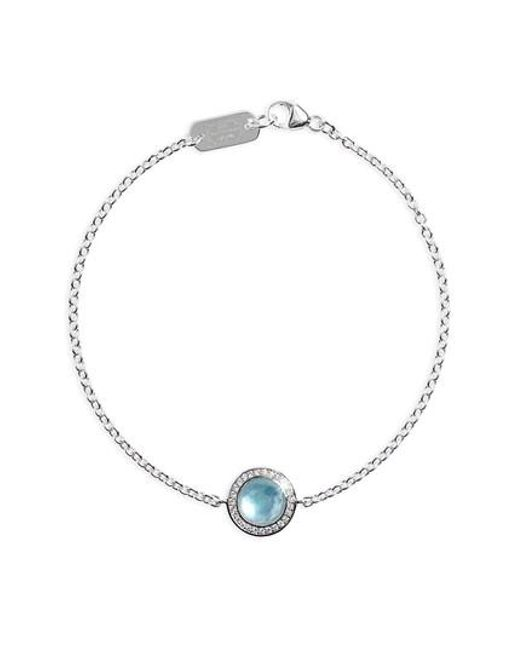 Ippolita | Blue Lillipop Diamond Bracelet | Lyst