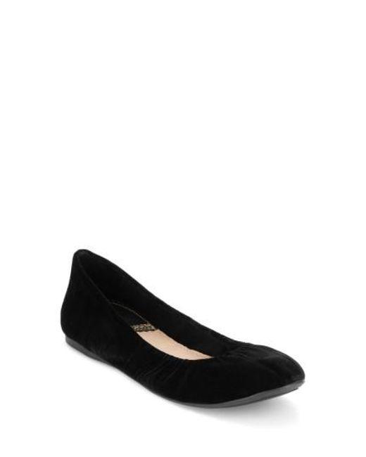 G.H. Bass & Co. | Black Felicity Ballet Flat | Lyst