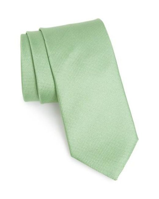 John W. Nordstrom | Green John W. Nordstrom 'ryder' Silk Tie for Men | Lyst
