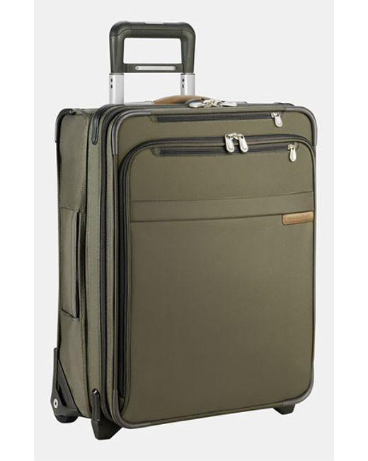 Briggs & Riley | Green 'baseline' International Expandable Rolling Carry-on for Men | Lyst
