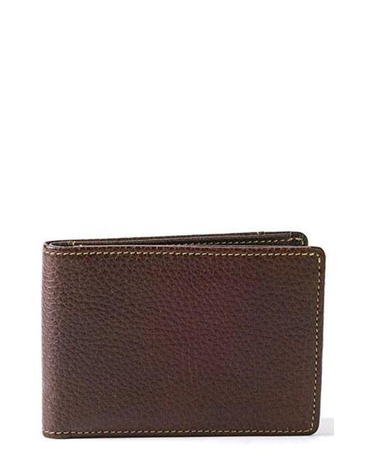 Boconi | Brown 'tyler' Rfid Slimster Wallet for Men | Lyst