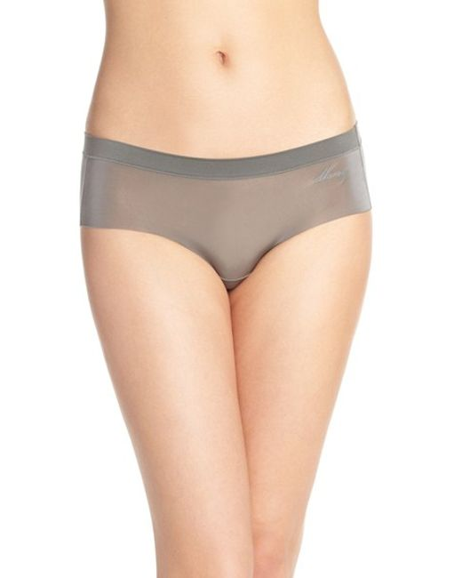 DKNY | Gray 'fusion' Hipster Briefs | Lyst
