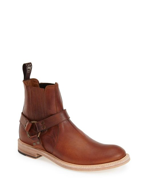 Sendra - Brown Boots 'blake' Harness Boot for Men - Lyst