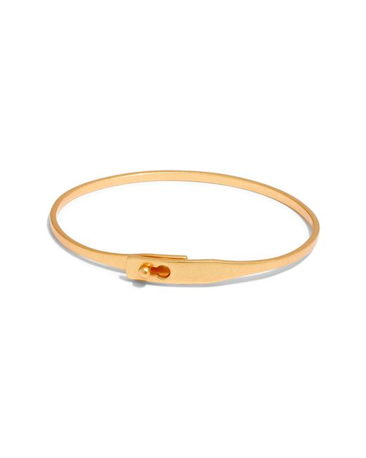 Madewell Metallic Delicate Glider Bangle Bracelet