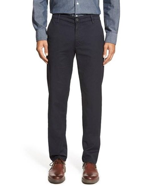 AG Jeans   Blue Slim Straight Leg Chinos for Men   Lyst