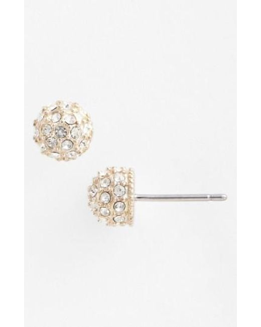 Judith Jack   Metallic Stud Earrings   Lyst