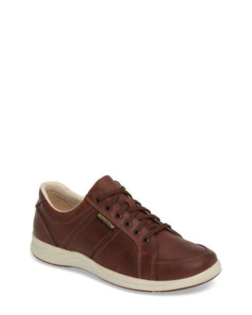 Mephisto | Brown 'hero' Perforated Sneaker for Men | Lyst