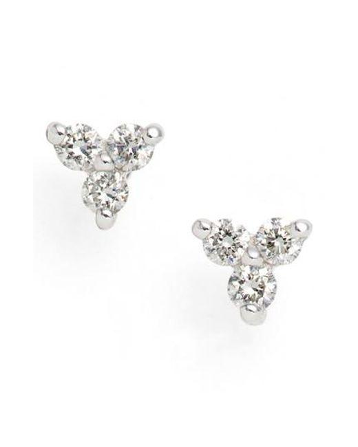 Bony Levy | Metallic Liora Diamond Stud Earrings (nordstrom Exclusive) | Lyst