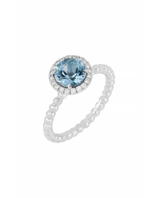 Bony Levy - Metallic Diamond & Aquamarine Ring (nordstrom Exclusive) - Lyst