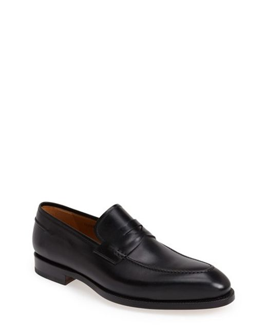 Saks Fifth Avenue | Black 'tevio' Penny Loafer for Men | Lyst