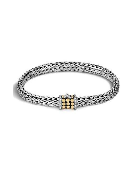John Hardy - Metallic 'dot' Small Bracelet - Lyst