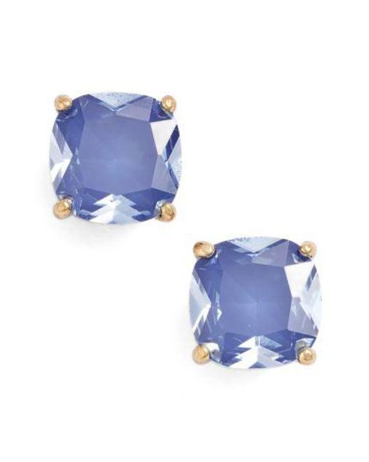 Kate Spade | Blue Mini Stud Earrings | Lyst