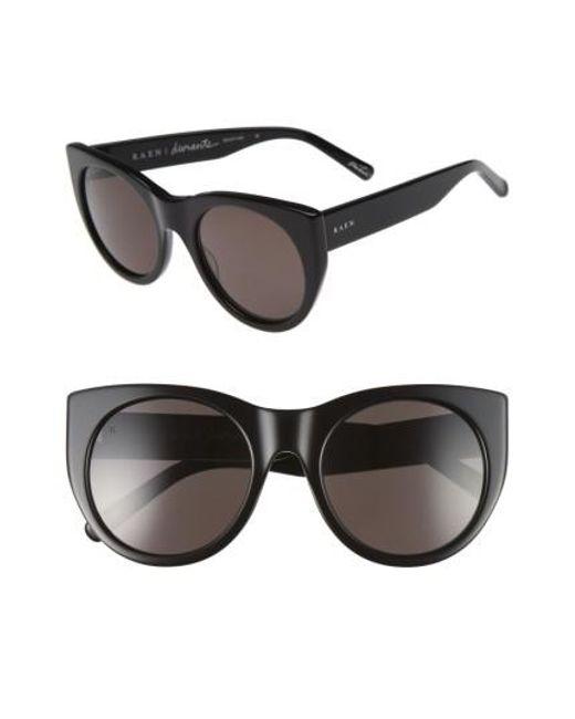 Raen | Black Durante 53mm Retro Sunglasses for Men | Lyst