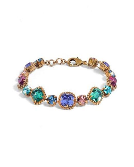 Sorrelli | Blue Dahlia Bracelet | Lyst