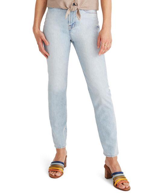 Madewell Blue The Curvy Perfect Vintage High Waist Jeans
