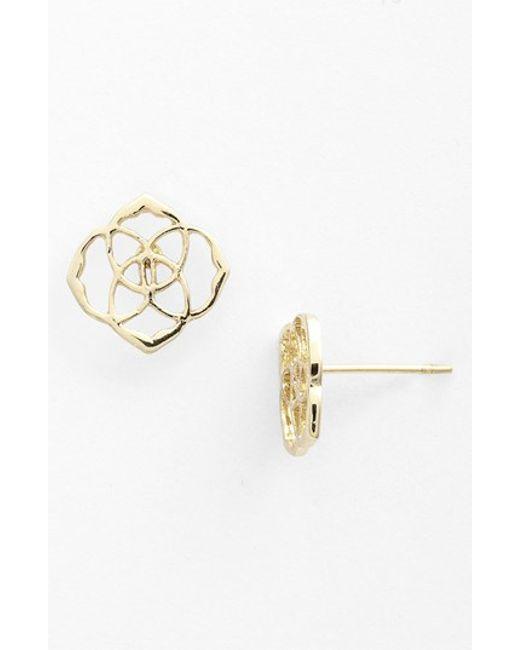 Kendra Scott | Metallic 'dira' Stud Earrings | Lyst
