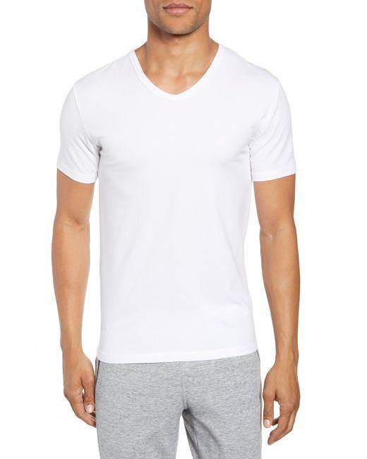 Joe's - 2-pack V-neck T-shirt, White for Men - Lyst