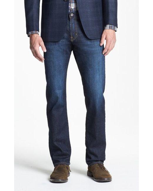 AG Jeans | Blue Graduate Slim Straight Leg Jeans for Men | Lyst