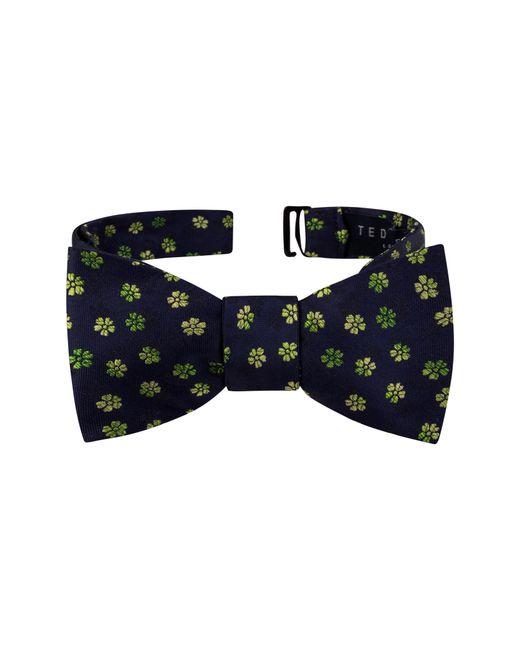 Ted Baker - Green Ombre Flower Silk Bow Tie for Men - Lyst