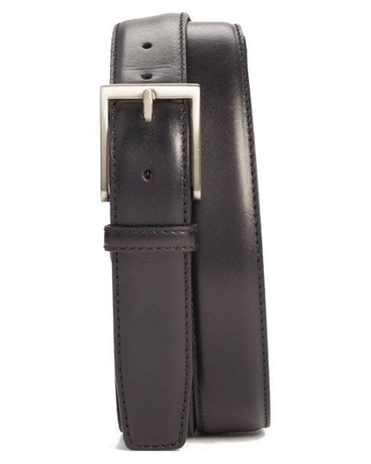 Saks Fifth Avenue | Black Catania Leather Belt for Men | Lyst