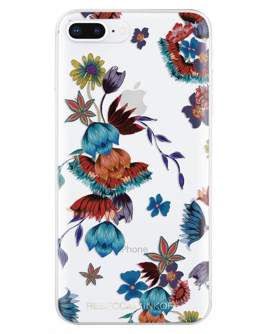Rebecca Minkoff - Blue Punk Floral Iphone 7/8 & 7/8 Plus Case - Lyst