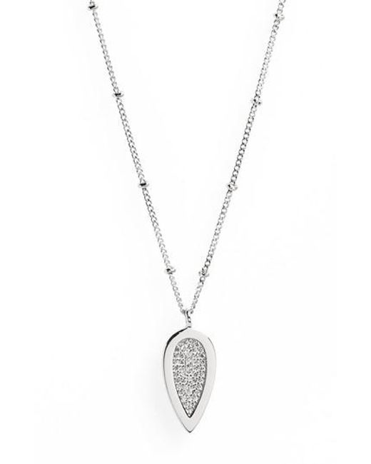 Melanie Auld | Metallic Teardrop Pendant Necklace | Lyst