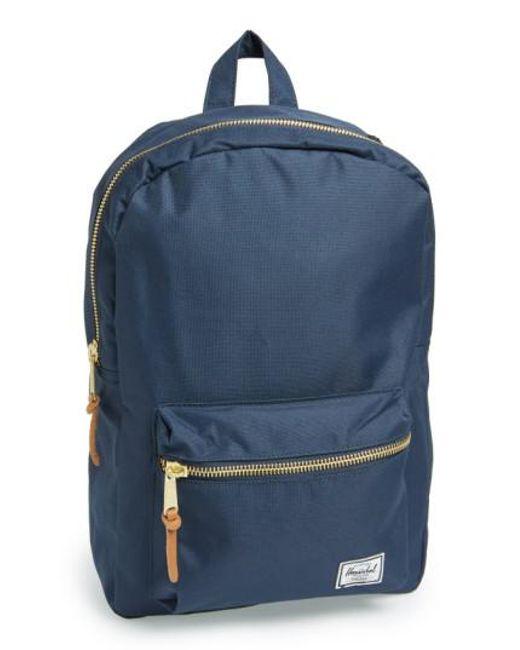 Herschel Supply Co. | Blue 'settlement Mid Volume' Backpack | Lyst