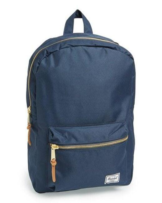 Herschel Supply Co.   Blue 'settlement Mid Volume' Backpack   Lyst