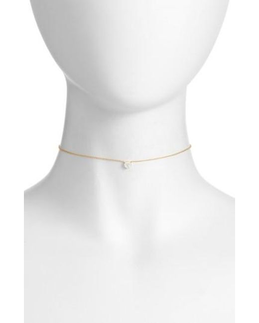 EF Collection - Metallic Diamond Pendant Necklace - Lyst