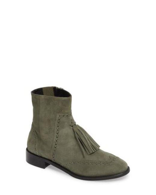 Charles David | Green Ralphie Boot | Lyst